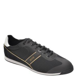 Pantofi sport HUGO BOSS negri, 4721, din material textil si piele naturala