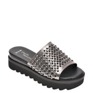 Papuci FLAVIA PASSINI gri, 0443051, din piele naturala