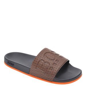 Papuci HUGO BOSS bleumarin, 8605, din PVC
