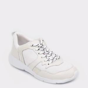 Pantofi sport FLAVIA PASSINI albi, 297501, din material textil