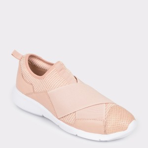 Pantofi sport FLAVIA PASSINI nude, 297503, din cmaterial textil