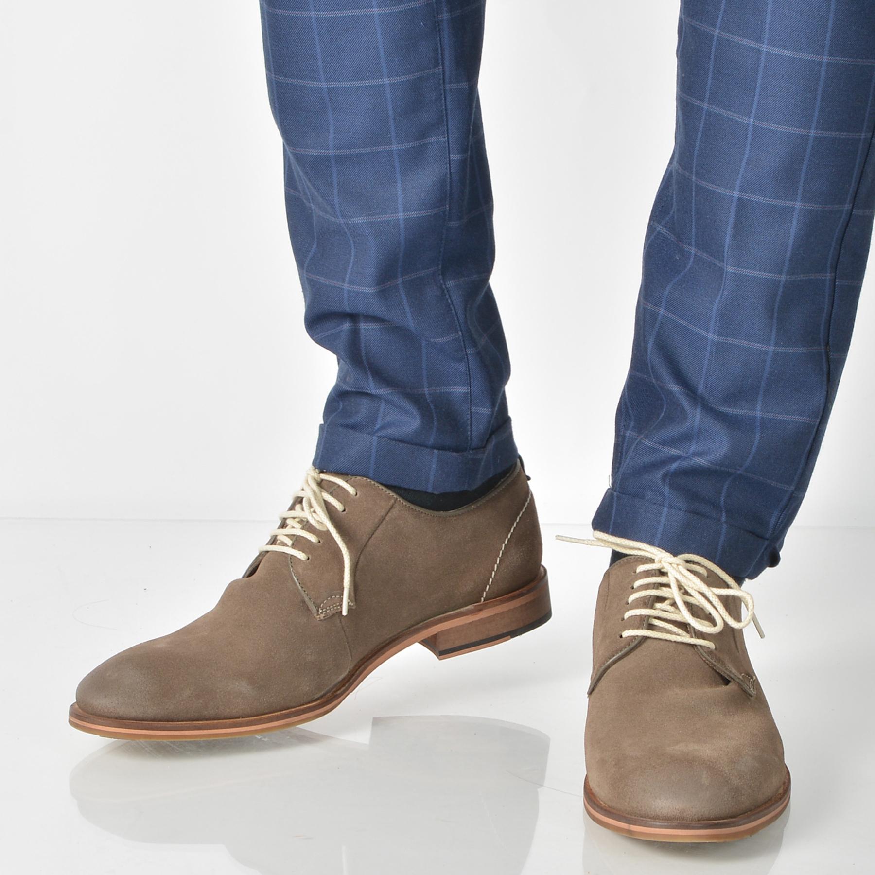 Pantofi OTTER maro, 4132, din piele intoarsa