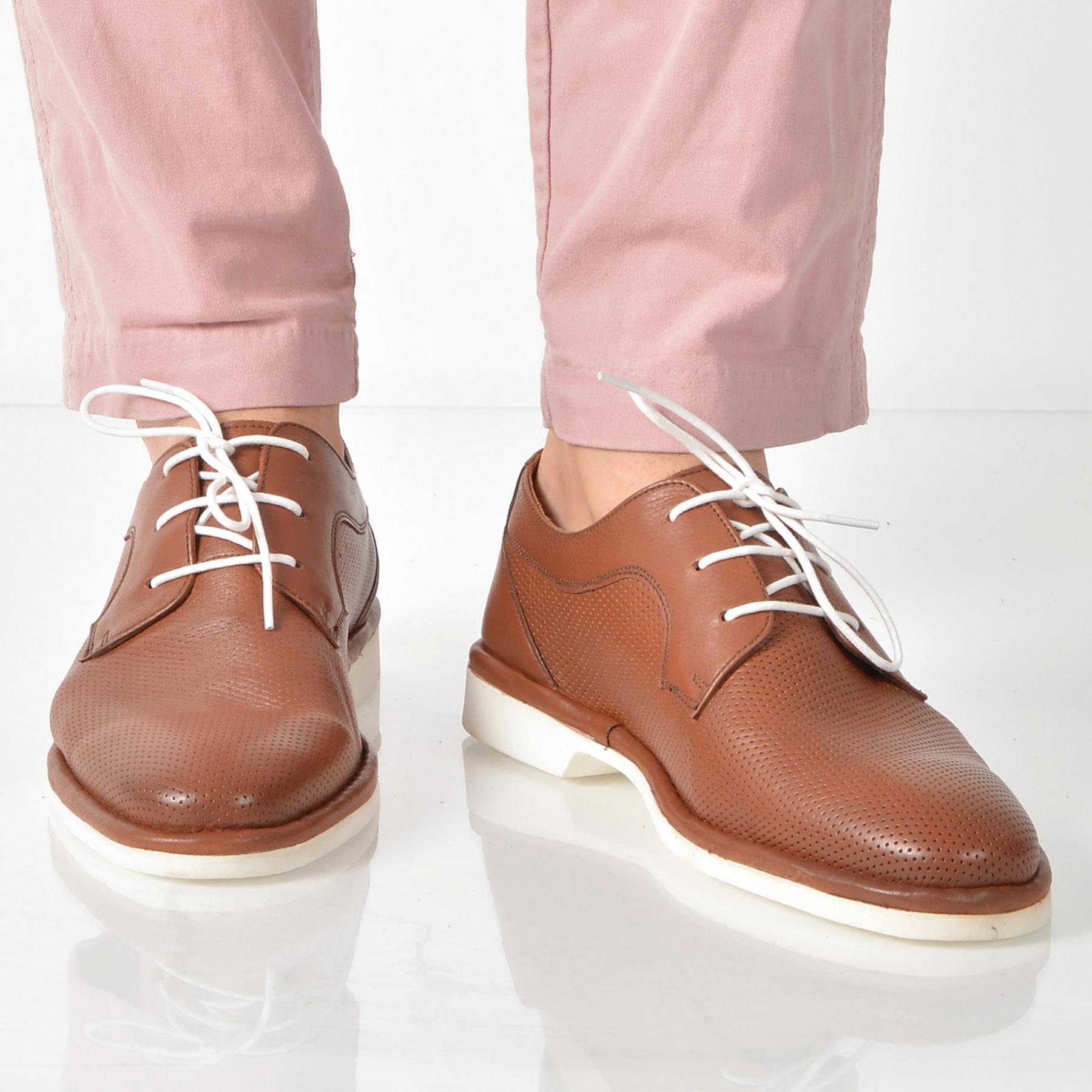 Pantofi OTTER maro, 4450, din piele naturala