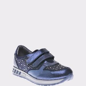 Pantofi pentru copii SELECTIONS KIDS albastri, P2861, din piele naturala