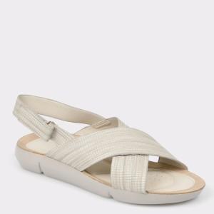 Sandale IMAGE gri 830301 din piele ecologica