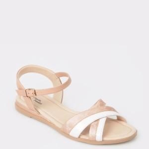 Sandale FLAVIA PASSINI nude, din piele ecologica
