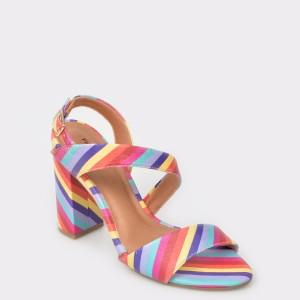 Sandale FLAVIA PASSINI multicolore, din piele ecologica