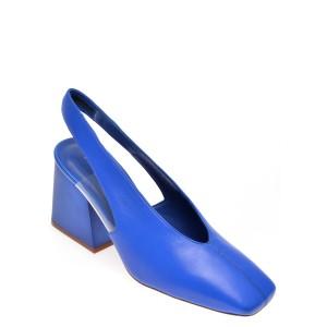 Saboti EPICA albastri, 70232, din piele naturala