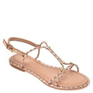 Sandale ALDO aurii, Qilinna653, din piele ecologica