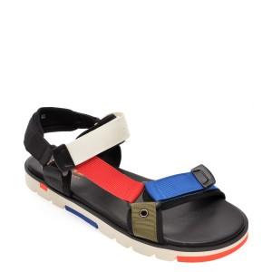 Sandale BITE THE BULLET negre, 9576821, din material textil