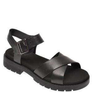Sandale CLARKS negre, Orinoco Strap, din piele naturala