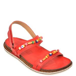 Sandale CONSUELO rosii, 1201B, din piele naturala