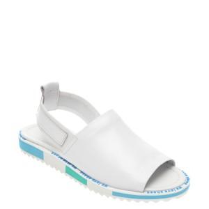 Sandale FLAVIA PASSINI albe, 088EY06, din piele naturala