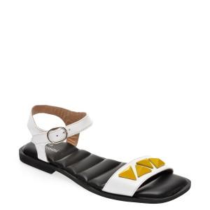 Sandale FLAVIA PASSINI albe, 136A640, din piele naturala