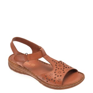 Sandale FLAVIA PASSINI maro, 810, din piele naturala