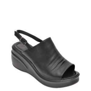 Sandale FLAVIA PASSINI negre, 123618, din piele naturala