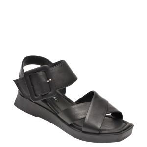 Sandale FLAVIA PASSINI negre, 130017, din piele naturala