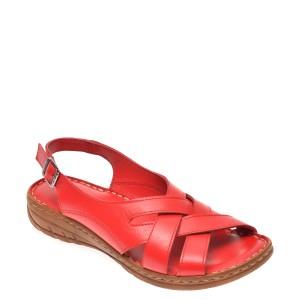 Sandale FLAVIA PASSINI rosii, 817, din piele naturala