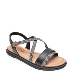 Sandale MODARE negre, 7139104, din piele ecologica