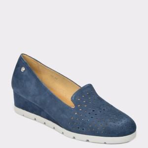 Pantofi STONEFLY bleumarin Milly15 din piele intoarsa