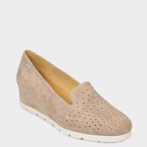 Pantofi STONEFLY gri Milly15 din piele intoarsa