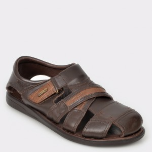 Sandale OTTER maro 17400 din piele naturala