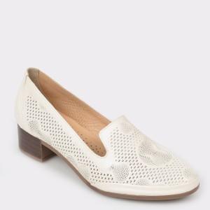 Pantofi FLAVIA PASSINI bej, Td304, din piele naturala