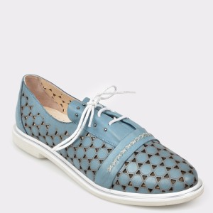 Pantofi FLAVIA PASSINI albastri, Vn7532, din piele naturala