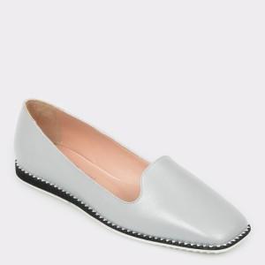 Pantofi FLAVIA PASSINI gri, Is50, din piele naturala