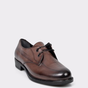Pantofi Flavia Passini Maro, Vr305, Din Piele Naturala