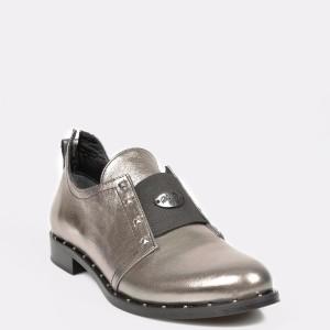 Pantofi FLAVIA PASSINI argintii, Ts06, din piele naturala