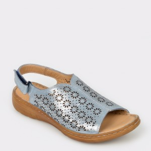 Sandale FLAVIA PASSINI albastre, 816, din piele naturala