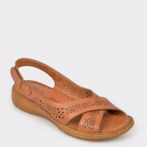Sandale FLAVIA PASSINI maro, 813, din piele naturala