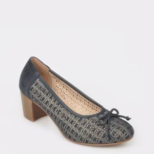 Pantofi REMONTE bleumarin D0826 din piele naturala