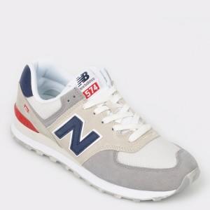 Pantofi sport NEW BALANCE gri, Ml574, din material textil