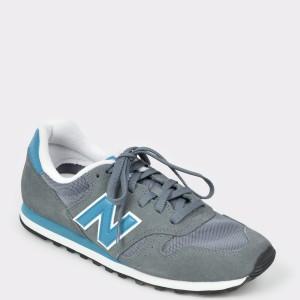 Pantofi sport NEW BALANCE gri, Ml373, din material textil