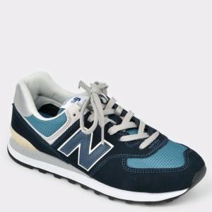Pantofi sport NEW BALANCE bleumarin, Ml574, din material textil