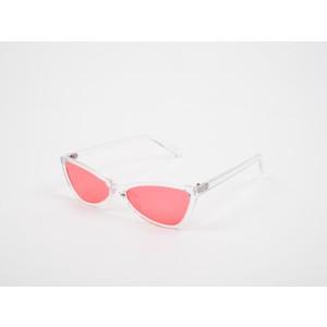 Ochelari de soare albi, EPICA, din PVC