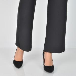 Pantofi EPICA negri, 2997505, din piele intoarsa