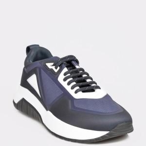 Pantofi sport HUGO BOSS bleumarin, 4637, din material textil