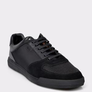 Pantofi sport HUGO BOSS negri, 2135, din material sintetic