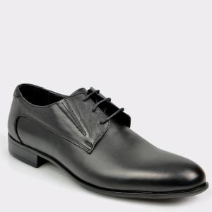 Pantofi OTTER negri, 113, din piele naturala
