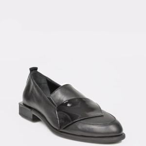 Pantofi FLAVIA PASSINI negri, 636150, din piele naturala lacuita