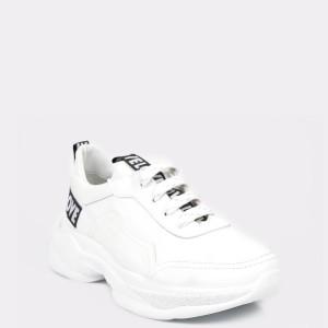 Pantofi sport FLAVIA PASSINI albi, 341083, din piele naturala