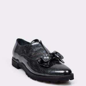 Pantofi FLAVIA PASSINI gri, 2404601, din piele naturala lacuita