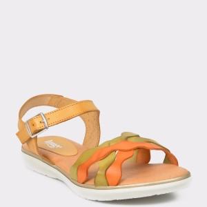 Sandale Image Multicolore , N1226em, Din Piele Naturala