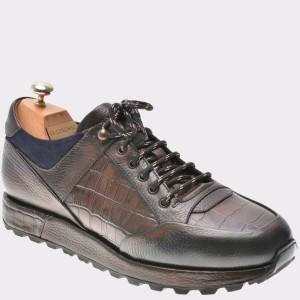 Pantofi LE COLONEL maro, 49401, din piele naturala