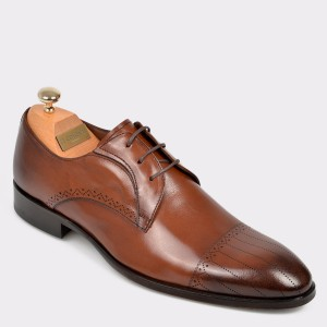 Pantofi LE COLONEL maro, 32776, din piele naturala