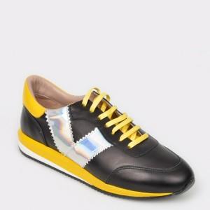 Pantofi FLAVIA PASSINI negri, 2039, din piele naturala
