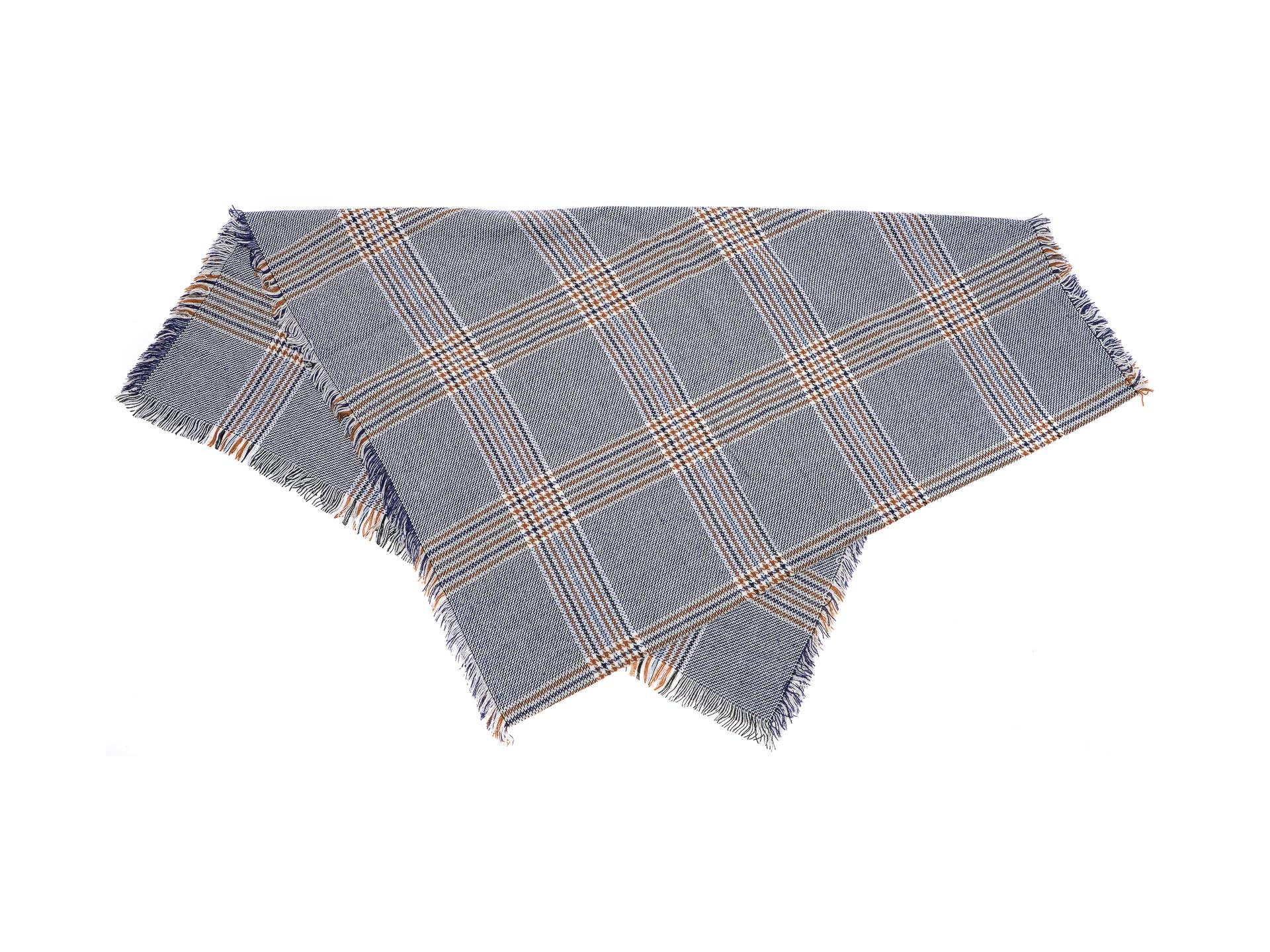 Esarfa ALDO bleumarin, Minos410, din material textil New